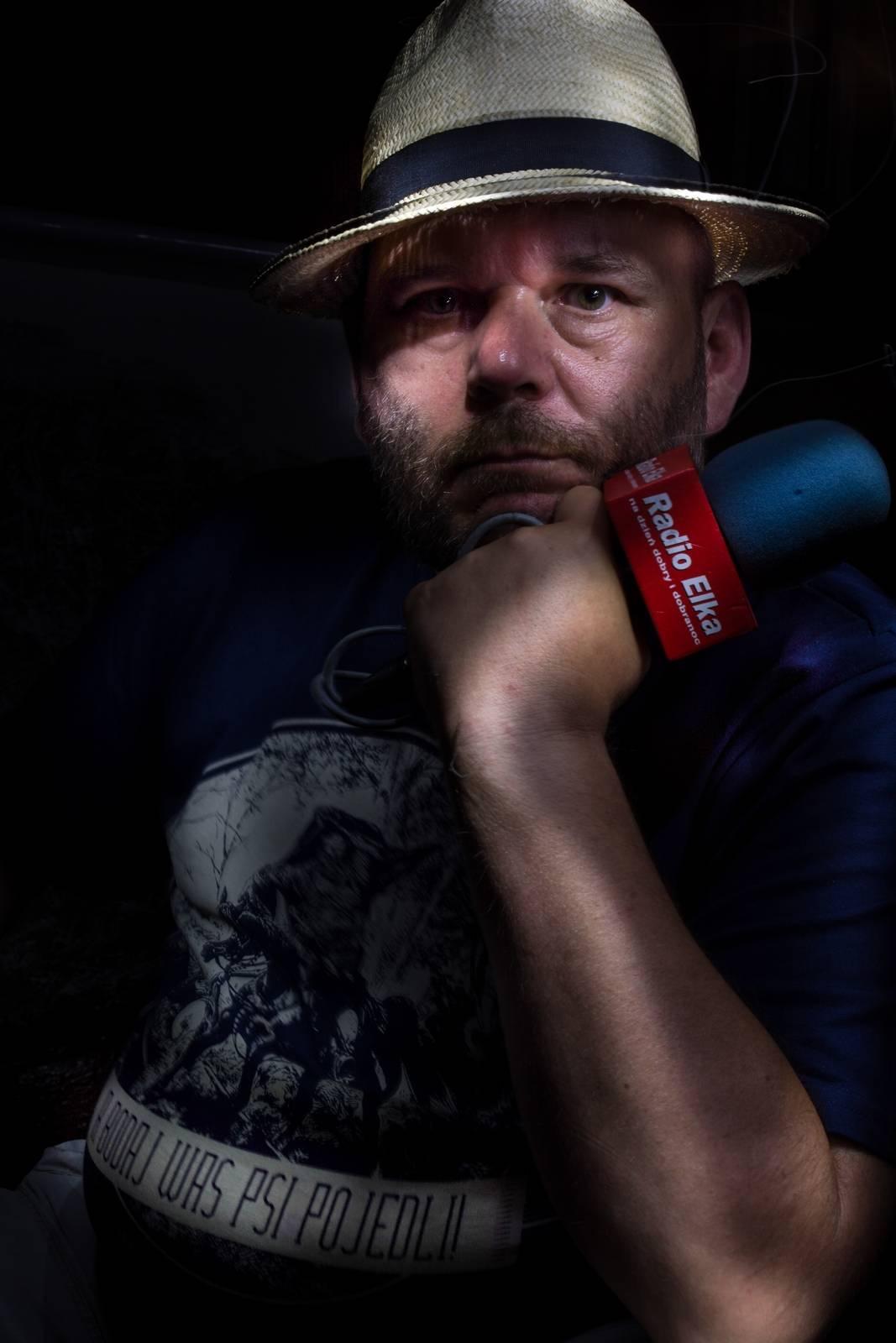 Jarosław - dziennikarz radiowy